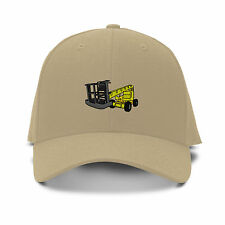 MAN LIFT CONSTRUCTION Embroidery Embroidered Adjustable Hat Baseball Cap
