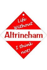 Altrincham  Car/window signs / Personalised signs / flexible magnets