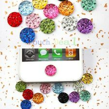 Diamond Fashion Bling Home Button Sticker Case for Apple iPod iPad iPhone Phones