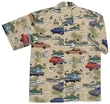 Chevy Nova SS Super Sport Classic Cars Hawaiian Camp Shirt by David Carey