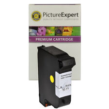 Remanufactured 15 / C6615DE Black Ink Cartridge for HP Printers