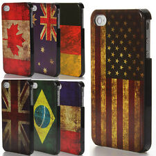 Classical National Retro Vintage Flag Hard Back Case Cover for Apple iPhone 4 4S