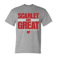 SCARLET AND GREAT THE BUCKEYE STATE t-shirt ohio buckeyes jersey football jersey