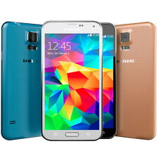 Samsung Galaxy S5 SM-G900A (AT&T 4G FACTORY UNLOCKED) Black White Gold (A)