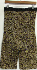 Slim 'N Lift Aire Leopard Print Tummy-to-Thigh High Waist Shaper Shorts NEW NWOT