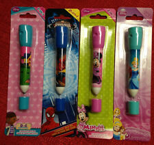 2-in-1 Disney Flashlight with Pen New Sealed 5 inch Toy 4 Different Choices