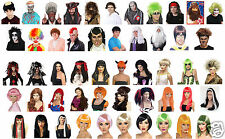 Fancy Dress Wig Male or Female Best Lot or Range Of  Wigs UK Supplier
