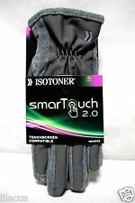 ISOTONER WOMEN'S SMARTOUCH 2.0 TECH STRETCH GLOVES - NEW.