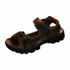 Mens Shoes Sandals Brown Borelli Malibu Tripple Velcro Sandal Size 6-12 new Shoe