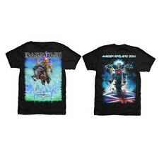 Official IRON MAIDEN Maiden England Tour Trooper T-shirt Black Sizes S to XXL