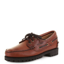 MENS SEBAGO GIBRALTAR DECK BOAT SHOE SMART CASUAL LEATHER TRAINERS SHOES SIZE