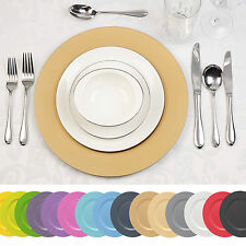 4 x Designer Decorative Charger Plates Xmas Dinner Dining Setting Lacquer Effect