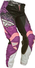 Fly 2015 Kinetic Girls YOUTH KIDS Race Pants Black / Purple All Sizes