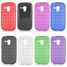 Case For Samsung Galaxy S 3 III S3 Mini i8190 Candy TPU Cover Rubber Accessory