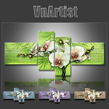 VnArtist / TOP LEINWAND KUNSTDRUCK BILDER DIGITAL BLUMEN ORCHIDEE ART  3109