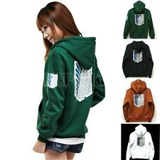 Attack on Titan Cosplay Hoodie Shingeki no Kyojin Scouting Legion Sweater Coat