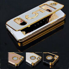 Hot Sale  Leather Skin Hard Case Luxury Flip Cover For Apple iPhone 4G/4S/5G/5S