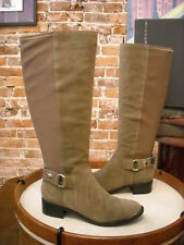 Steve Madden Ranaldo Grey Suede Riding Boot New