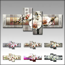 VnArtist / TOP LEINWAND XXL KUNSTDRUCK BILDER DIGITAL BLUMEN ORCHIDEE ART B3