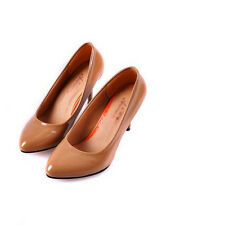 New 2014 Women's Pumps High Slim Heels Faux Leather Casual Shoes CA HF