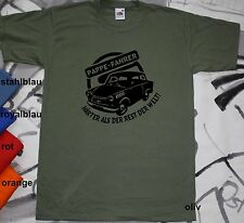 T-Shirt DDR Trabant Trabi Pappe-Fahrer Logo S-3XL MS-H9/2