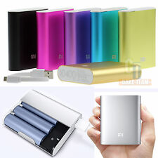 Mobile Phone Power Bank 10400 mAh Portable Backup Battery USB Charger For XIAOMI