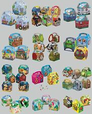 8 PARTY (Food/Lunch) BOXES - Range of Themes/Occasions/Patterns{Birthday/Card}
