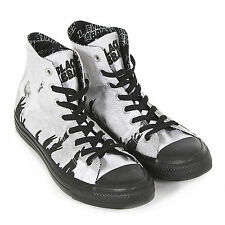 Converse Men's Black Sabbath All Star Hi 'Ozzy' Trainer Black / White