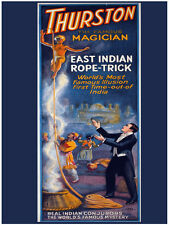 7629.Thurston.The famous magician.east indian rope pick.POSTER.art wall decor