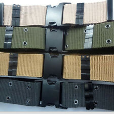 Men Military Belts GB07  new  canvas Army outdoor field training equipment 130cm