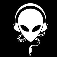 MUSIC ALIEN (party remix hip hop dvd rap ambient goa disco ska hardcore) T-SHIRT