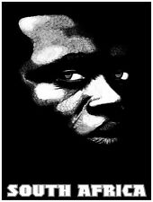 8123.South Africa. Portrait of a black man in shadows.POSTER.art wall decor
