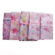 New Brand Floral Clothes Bra Underwear Socks Zipper Washing Laundry Bag Mesh  S