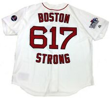 BOSTON RED SOX BOSTON STRONG MARATHON TRIBUTE 617 JERSEY MAJESTIC