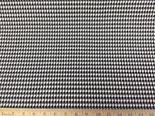 Discount Fabric Premier Prints Houndstooth Black and White PR01