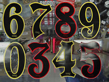 Vintage Haro Numbers For Number Plate for BMX Racing Old Mid School Bike