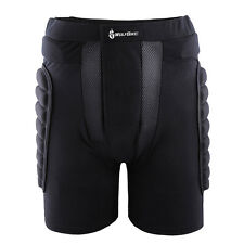 Protective Hip Padded Shorts Snowboard Skiing Skating Black Impact Protection