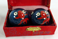 """Chinese Healthy hands exercise balls -1.3"""" Baoding balls for small hands"""