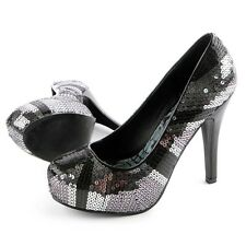 Iron Fist new collection Jacked Up Platform Silver/black