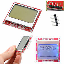 New 84*48 84x84 LCD Module White backlight adapter PCB for Nokia 5110 Arduino CM
