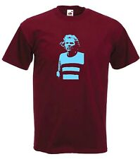 Bobby Moore Of West Ham Claret Football Club FC Soccer T-Shirt - All Sizes