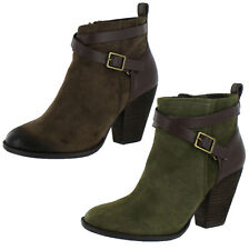 Lucky Brand Yustina Women's Boots Suede Ankle Bootie