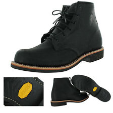 "Chippewa 6"" Odessa Men's Leather Work Vibram Boots Made In USA"