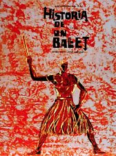 8580.Historia de un ballet.documentary.man on firePOSTER.movie decor graphic art