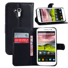9Colors Wallet Leather Case Cover For Wiko Cink Five #i