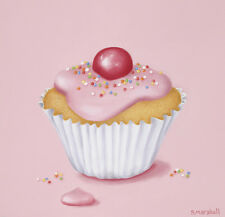 SHEILA MARSHALL CAN I HAVE A FAIRY CAKE? ART PRINT WITH FRAME OPTIONS OR CANVAS