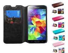 Book Style MyJacket Card Wallet Protector Cover Case for Samsung Galaxy S5