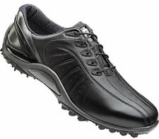 Footjoy FJ Sport Spikeless Golf Shoes Black 53154 Mens New