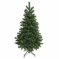6ft 5ft 4ft Green Artificial Mixed Pine Christmas Tree Festive Xmas Decoration