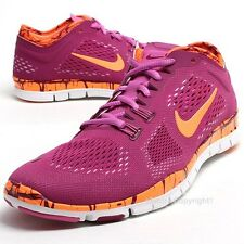 New Nike Free TR Fit 4 Running Shoes Purple/Orange/White 629832-501 **